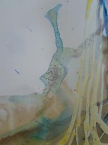 Detail of ink