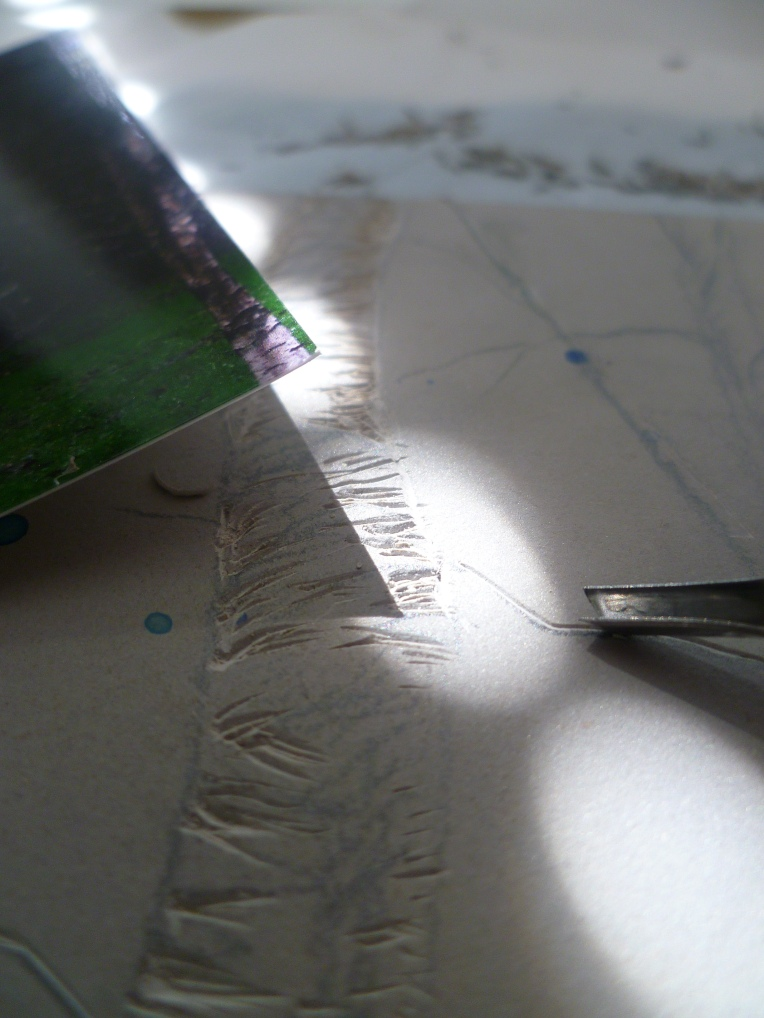 Linocutting