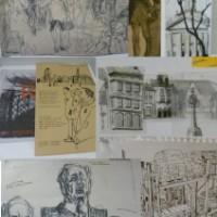 'Chronicle' Topolski Studio's Residents' Reportage Drawing Exhibition