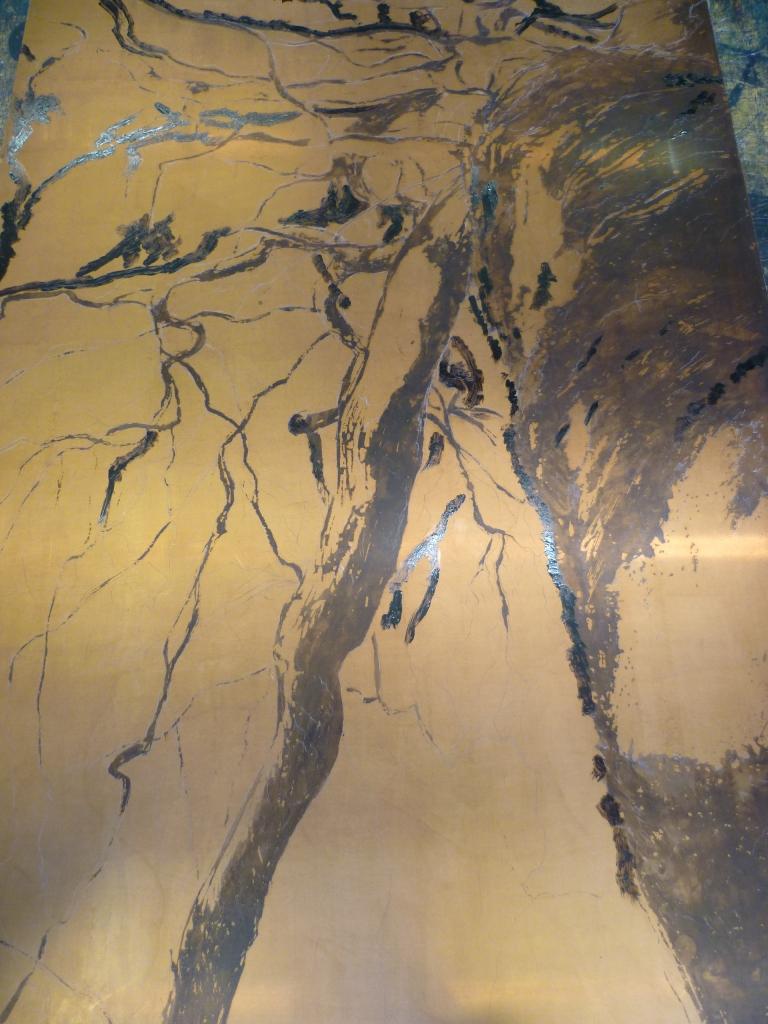 Copper plate in process, #2