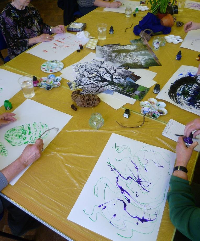 Ink Drawing Workshop