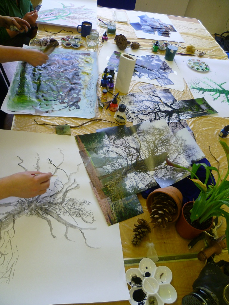 Ink Drawing Workshop