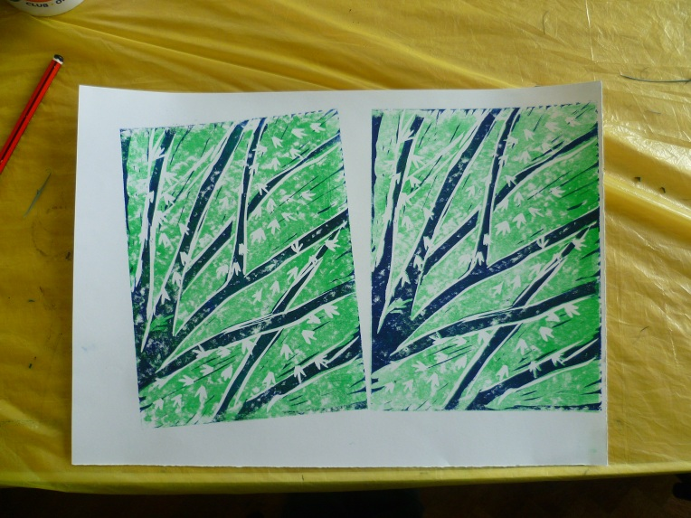 Lino and Mono printing Workshop