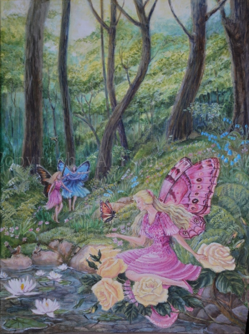 Fairy Painting Shirley Barber.2