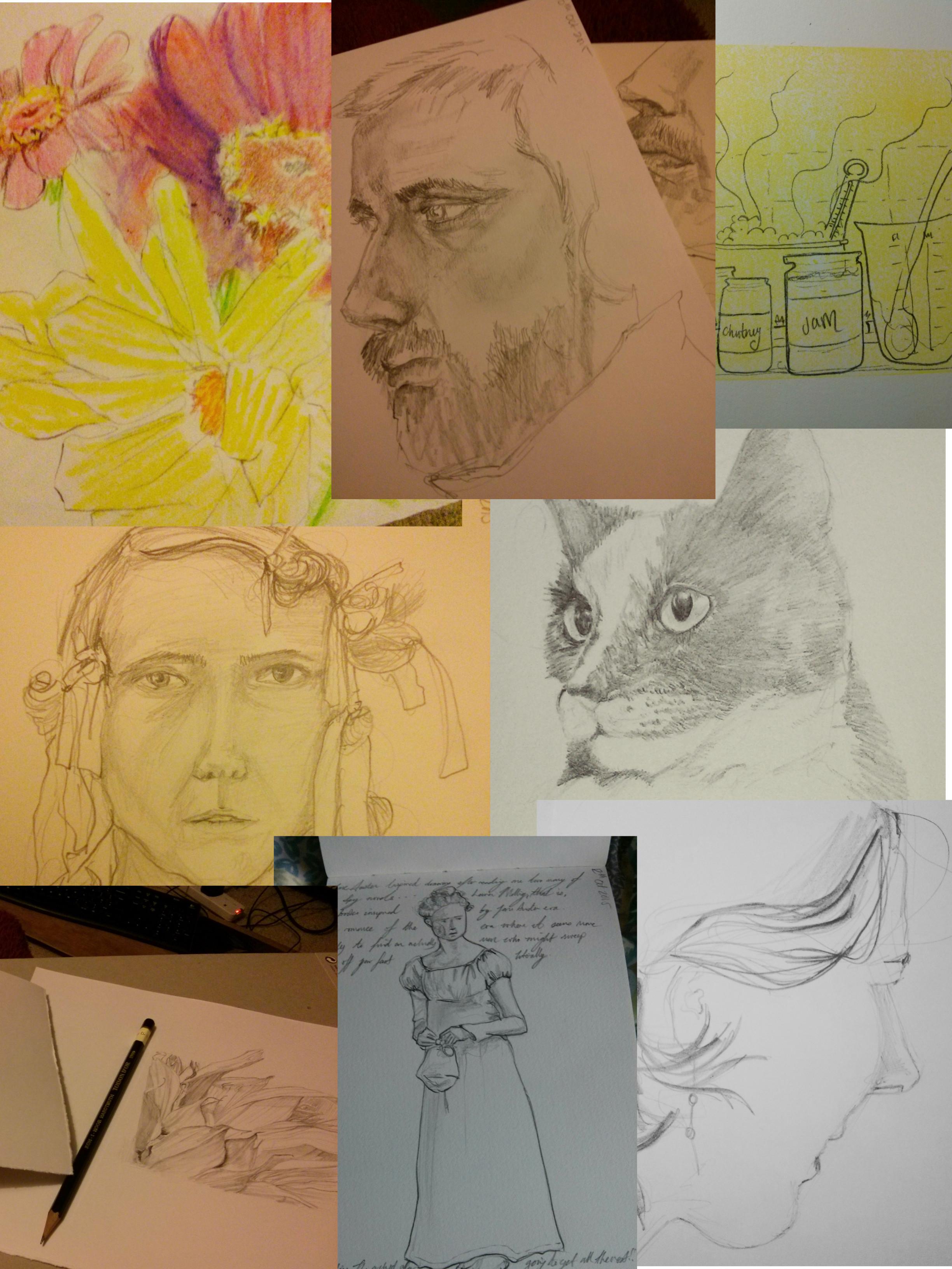 Best of Octobers Sketches