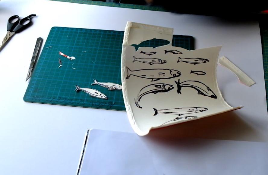 fish 2 starbucks cup fish